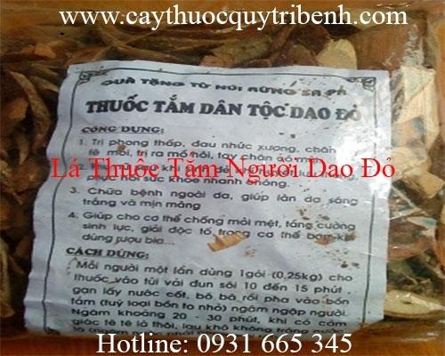 Mua bán lá thuốc tắm người Dao tại quận Gò Vấp có tác dụng giúp ngủ sâu