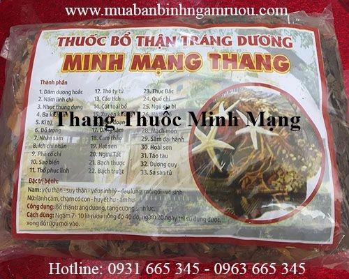 Mua thang thuốc Minh Mạng ở đâu tại tp hcm ???
