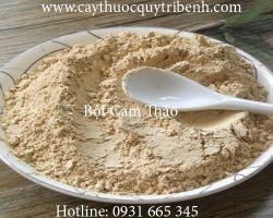 Mua bán bột cam thảo tại Vĩnh Long có tác dụng điều trị tá tràng