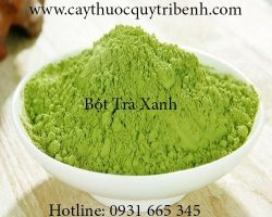 Mua bán bột trà xanh uy tín tại Vĩnh Long giúp đào thải độc tố tốt nhất