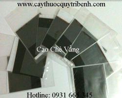 Mua bán cao chè vằng chất lượng tại Đà Nẵng có tác dụng điều trị đầy hơi