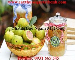 Mua bán chanh đào ngâm mật ong tại Ninh Thuận giúp da sáng tốt nhất