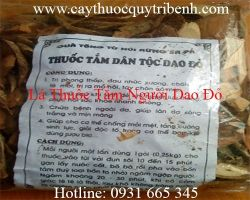 Mua bán lá thuốc tắm người Dao tại quận 9 giúp da sáng trắng mịn màng