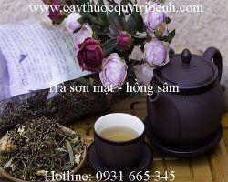 Mua bán trà sơn mật hồng sâm tại quận Tân Bình có tác dụng chữa mất ngủ