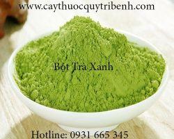 Tác dụng của bột trà xanh giúp làm đẹp hiệu quả nhất