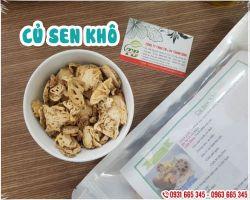 Tác dụng của củ sen khô